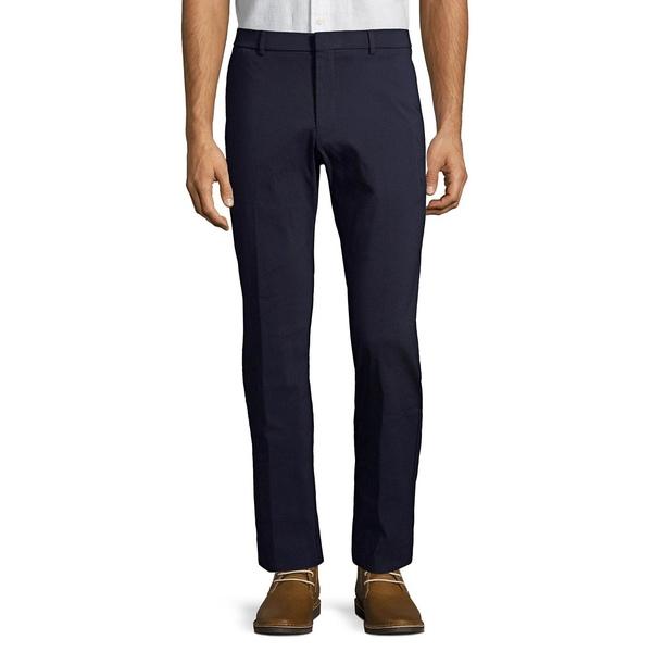 トミー ヒルフィガー メンズ カジュアルパンツ ボトムス Flat Front Dress Pants Navy