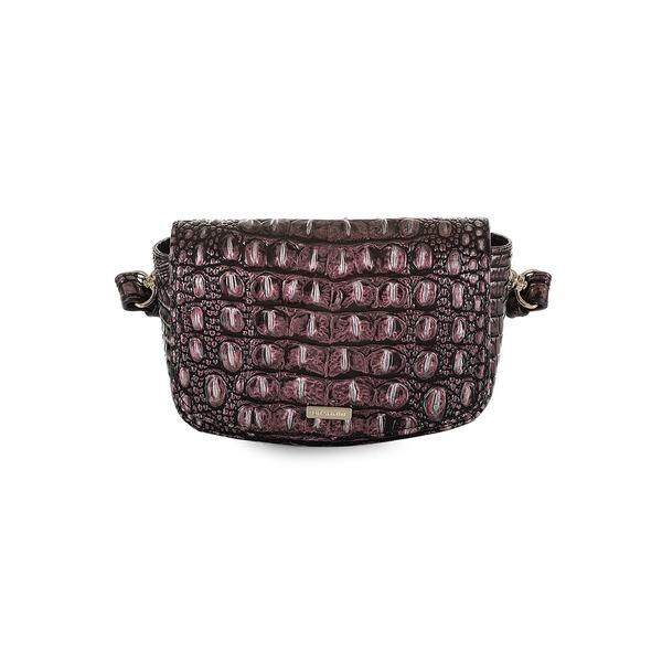 ブランミン レディース ハンドバッグ バッグ Melbourne Mini Leather Belt Bag Plum