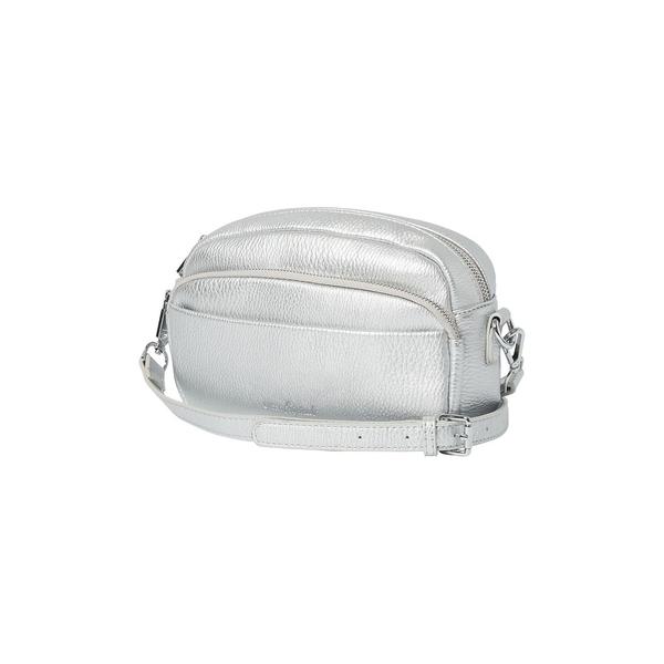アーバンオリジナルス レディース ショルダーバッグ バッグ Gypsy Sport Vegan Leather Crossbody Bag Silver