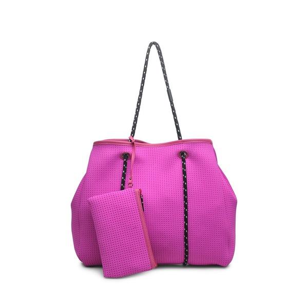 ソルアンドセレン レディース トートバッグ バッグ Ready For Everything Neoprene Tote Neon Pink