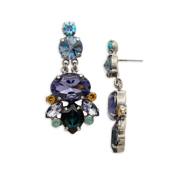 ソレーリ レディース ピアス&イヤリング アクセサリー Moonlit Shores Jade Crystal Drop Earrings Moonlit Shore