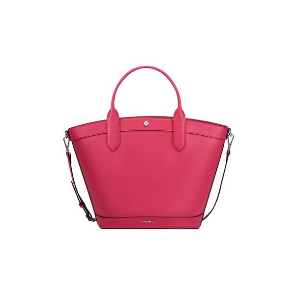 ナインウェスト レディース ショルダーバッグ バッグ Norah Faux Leather Tote Haute Pink