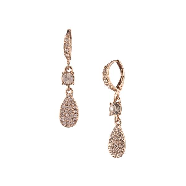 ジバンシー レディース ピアス&イヤリング アクセサリー Rose Goldtone & Crystal Drop Earrings Rose Gold
