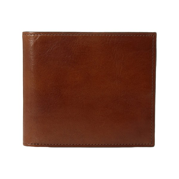 ボスカ メンズ 財布 アクセサリー Old Leather Collection - Eight-Pocket Deluxe Executive Wallet w/ Passcase Amber