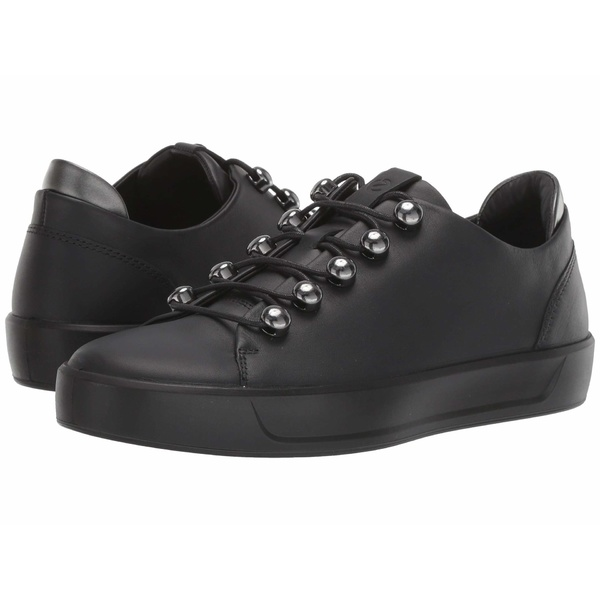 エコー レディース スニーカー シューズ Soft 8 Trend Sneaker Black/Black/Dark Shadow Metallic