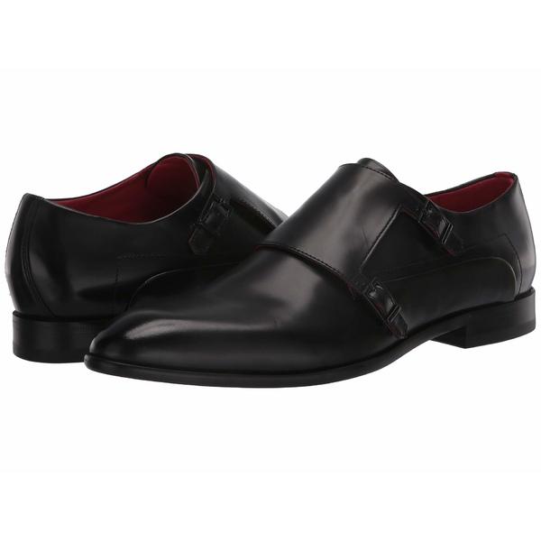 ヒューゴボス メンズ ドレスシューズ シューズ Appeal Monk Shoe by HUGO Black