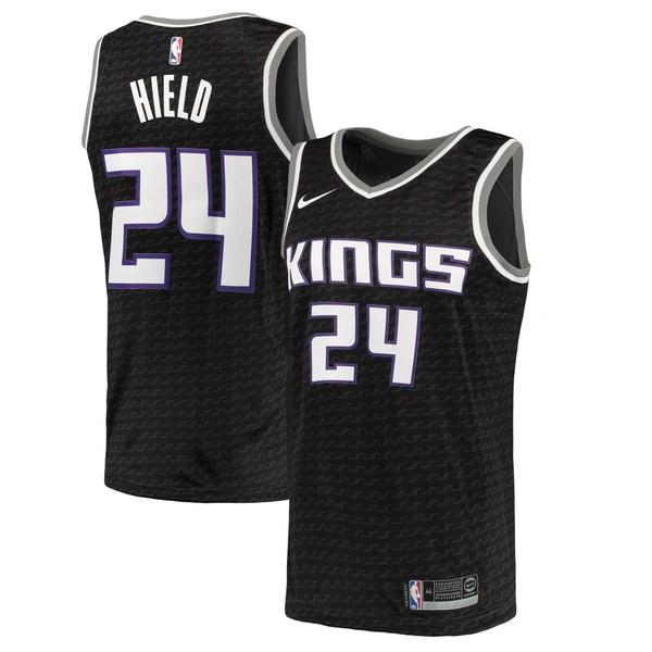 ナイキ メンズ ユニフォーム トップス Buddy Hield Sacramento Kings Nike Swingman Jersey Purple Icon Edition