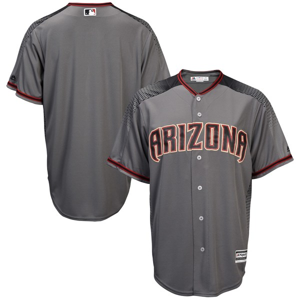 マジェスティック メンズ ユニフォーム トップス Arizona Diamondbacks Majestic Official Cool Base Jersey White/Sedona Red