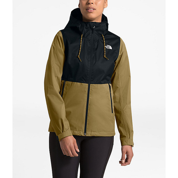 ノースフェイス レディース ジャケット&ブルゾン アウター The North Face Women's Arrowood Triclimate Jacket British Khaki / TNF Black