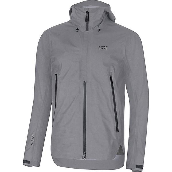 ゴアウェア メンズ ジャケット&ブルゾン アウター Gore Wear Men's H5 GTX Active Hooded Jacket Terra Grey