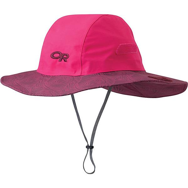 アウトドアリサーチ メンズ 帽子 アクセサリー Outdoor Research Seattle Sombrero Desert Sunrise / Sangria Swirl