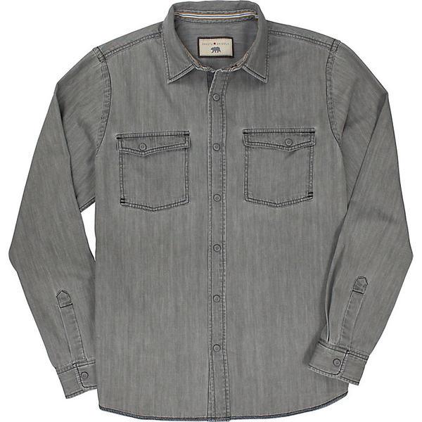 ダコタグリズリー メンズ シャツ トップス Dakota Grizzly Men's Ryder Shirt Grey