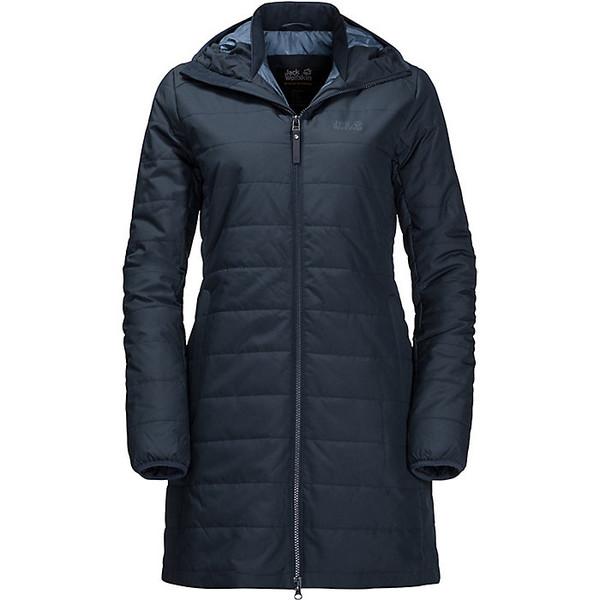 ジャックウルフスキン レディース ジャケット&ブルゾン アウター Jack Wolfskin Women's Maryland Coat Midnight Blue