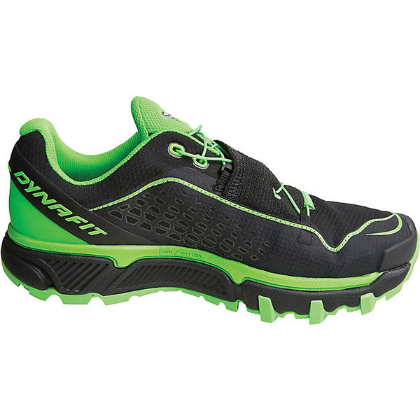 ダイナフィット メンズ ランニング スポーツ Dynafit Men's Ultra Pro Shoe Black / Dna Green
