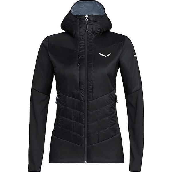 サレワ レディース ジャケット&ブルゾン アウター Salewa Women's Ortles Hybrid TW CLT Jacket Black Out
