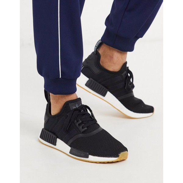 アディダスオリジナルス メンズ スニーカー シューズ adidas Originals nmd sneakers in black Bk1 - black 1