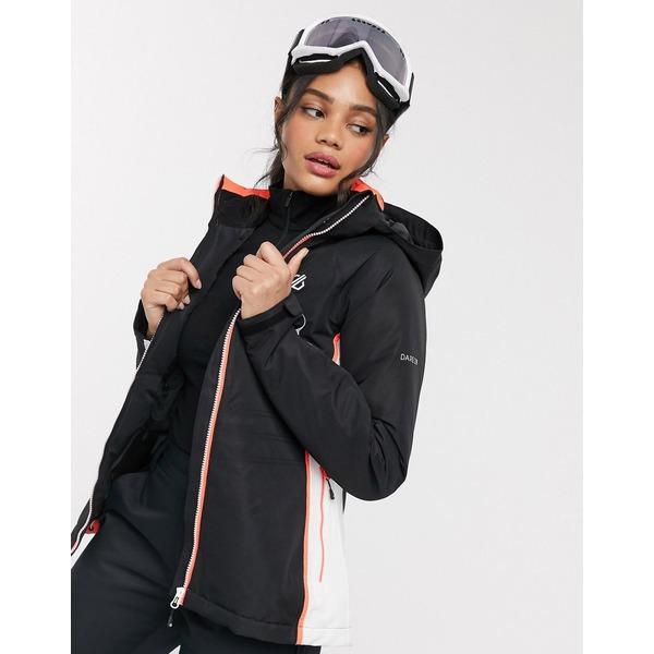 デアツービー レディース ジャケット&ブルゾン アウター Dare2b Thrive jacket in black Black
