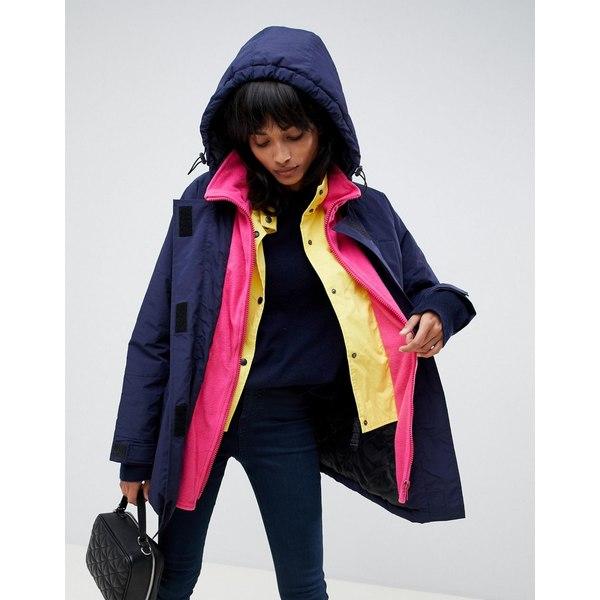エイソス レディース ジャケット&ブルゾン アウター ASOS DESIGN oversized layered coat Multi