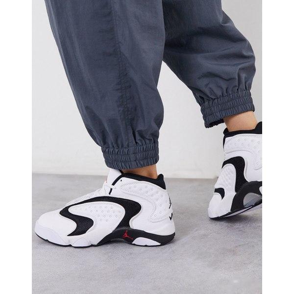 ジョーダン レディース スニーカー シューズ Nike Air Jordan OG sneakers in white and black White