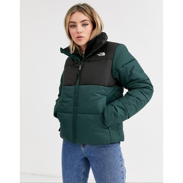 ノースフェイス レディース ジャケット&ブルゾン アウター The North Face Saikuru jacket in green Green