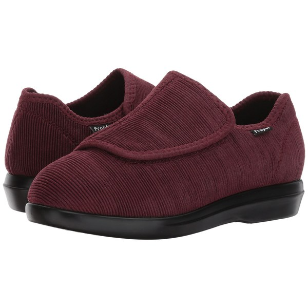 プロペット レディース サンダル シューズ Cush 'n Foot Medicare/HCPCS Code = A5500 Diabetic Shoe Merlot Corduroy