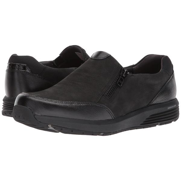 ロックポート レディース スニーカー シューズ Trustride Side Zip Black