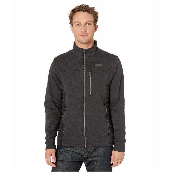 シンク メンズ コート アウター Hybrid Fleece Jacket Charcoal