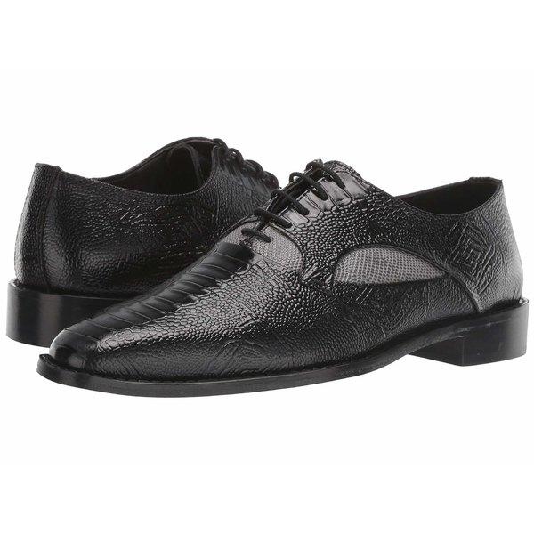 ステイシーアダムス メンズ ドレスシューズ シューズ Ricoletti Leather Sole Plain Toe Oxford Black/Gray