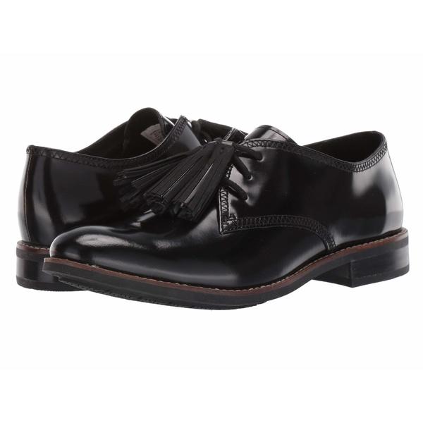 スペリー レディース オックスフォード シューズ Fairpoint Tassel Leather Oxford Black