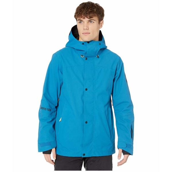 オニール メンズ コート アウター GTX Shred Freak Jacket Seaport Blue