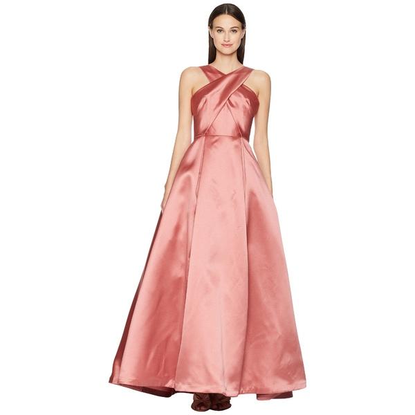 MLモニックルイラー レディース ワンピース トップス Cross Front Satin Gown Blush Pink