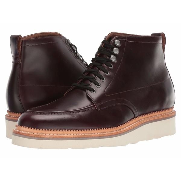 ボストニアン メンズ ブーツ&レインブーツ シューズ Berkshire Peak Burgundy Leather