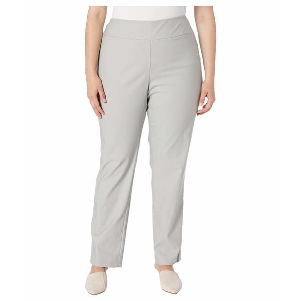 ニックプラスゾーイ レディース カジュアルパンツ ボトムス Plus Size Wonderstretch Pants Grey Smoke