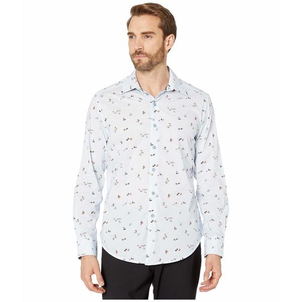 ロバートグラハム メンズ シャツ トップス Omakese Shirt Blue