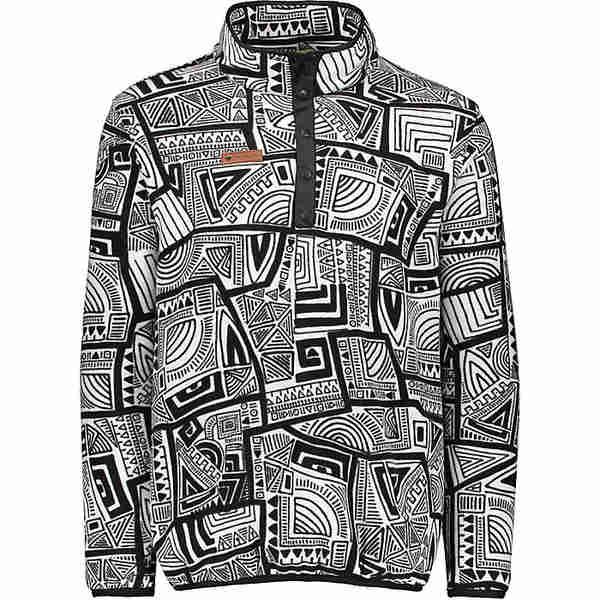 オバマイヤー メンズ ジャケット&ブルゾン アウター Obermeyer Men's Boulder Fleece Top Fresh Prints