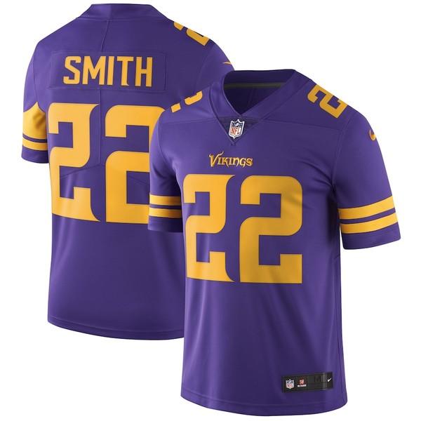 ナイキ メンズ シャツ トップス Harrison Smith Minnesota Vikings Nike Vapor Untouchable Color Rush Limited Player Jersey Purple