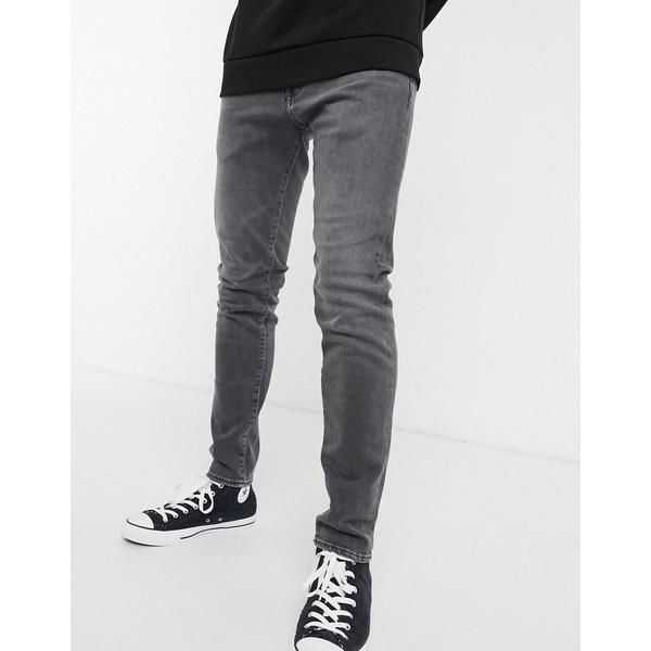 エドウィン メンズ デニムパンツ ボトムス Edwin ED85 skinny fit jeans in gray denim Kentaro wash