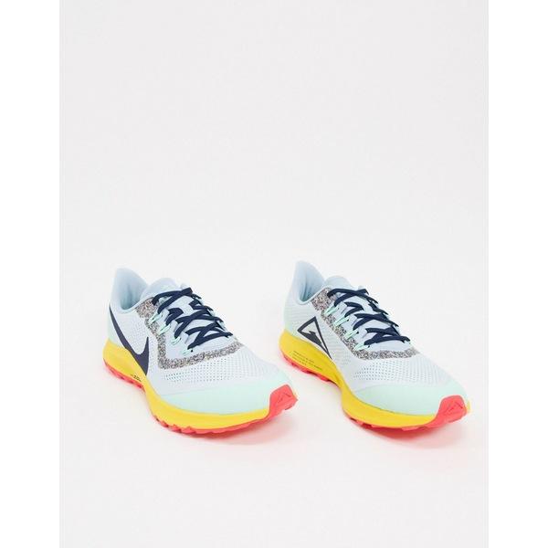 ナイキ メンズ スニーカー シューズ Nike Running Air Zoom Pegasus trail sneakers in multi Multi