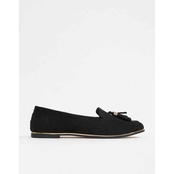 エイソス レディース スニーカー シューズ ASOS DESIGN Mindful flat shoes Black