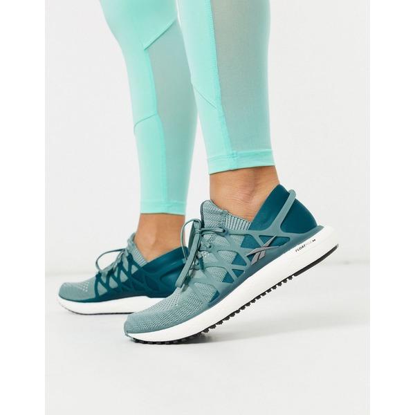 リーボック レディース スニーカー シューズ Reebok running floatride 2.0 sneakers in green Green