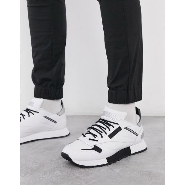 リーボック メンズ スニーカー シューズ Reebok Classic leather Reedux recrafted premium sneakers in white Wh1 - white 1