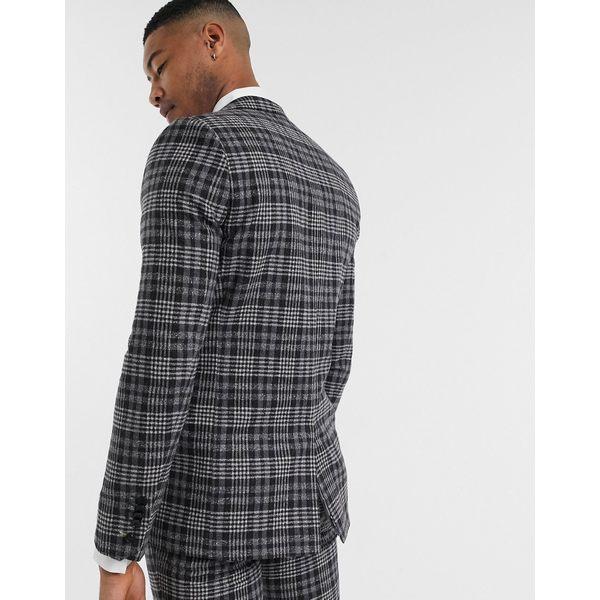 ツイステッドテイラー メンズ ジャケット&ブルゾン アウター Twisted Tailor TALL suit jacket in gray check Gray