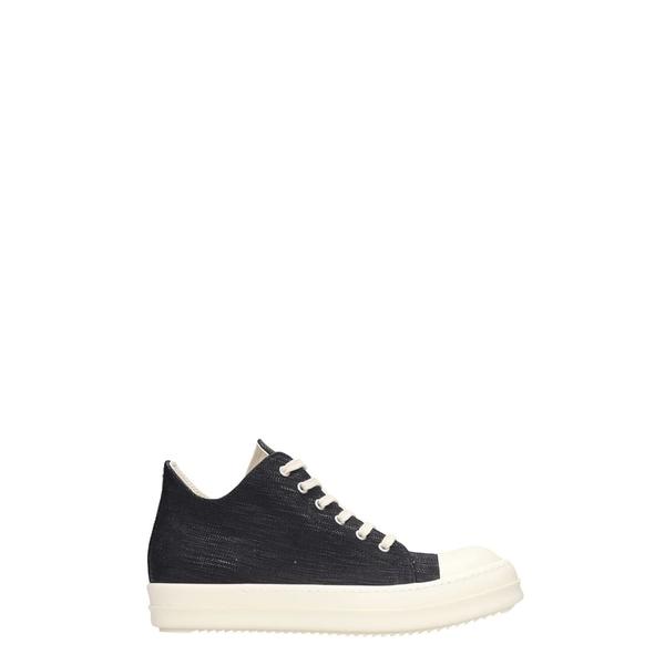 ダークシャドウ メンズ スニーカー シューズ DRKSHDW Low Sneaks Sneakers In Black Denim black