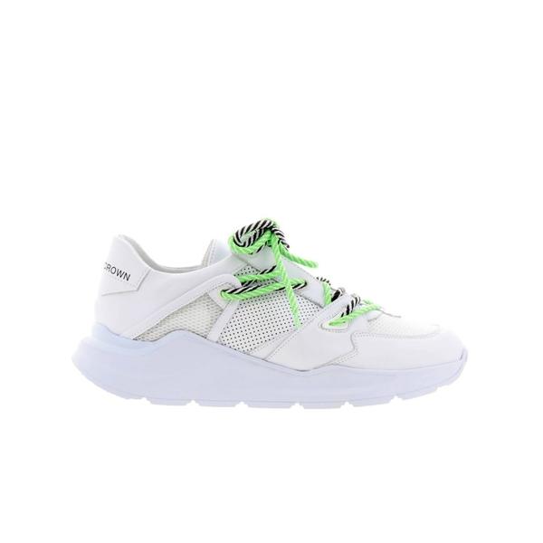 レザークラウン メンズ スニーカー シューズ Leather Crown Sneakers Shoes Men Leather Crown white1