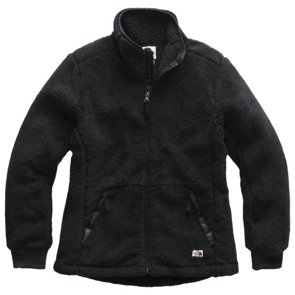 ノースフェイス レディース ジャケット&ブルゾン アウター Campshire FullZip Hoodie Tnf Black | Past Season Product