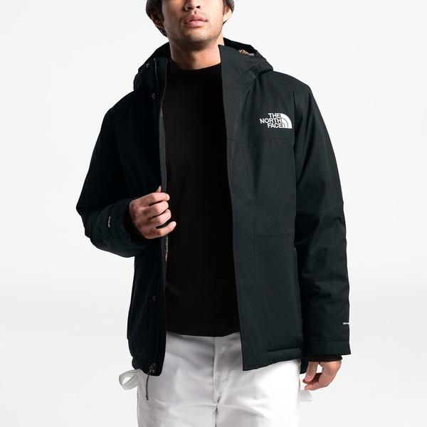 ノースフェイス メンズ ジャケット&ブルゾン アウター Balham Insulated Jacket Tnf Black/Burnt Olive | Past Season Product