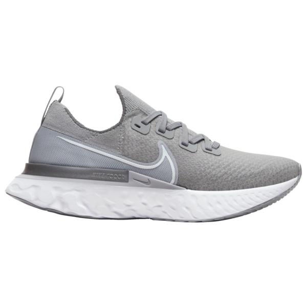 ナイキ メンズ ランニング スポーツ React Infinity Run Flyknit Cool Grey/White/Wolf Grey/Metallic Silver