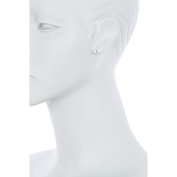 ブルーニング レディース アクセサリー ピアス イヤリング SILVER 全商品無料サイズ交換 CZ 3.5mm Silver ◆高品質 Stud Earrings Sterling メーカー直送