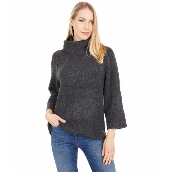 アウター リラピー レディース Boucle Sweater Coal Turtleneck Easy ニット&セーター