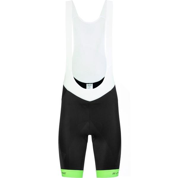 シマノ メンズ サイクリング スポーツ S-PHYRE Bib Short - Men's Neon Green